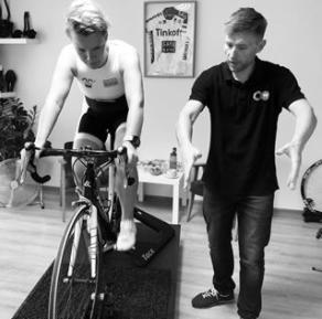 VeloLAB bikefitting Łukasz Szczęsny
