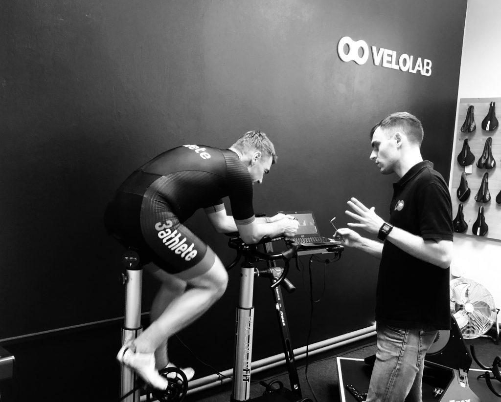 Łukasz Szczęsny bikefitting VeloLAB